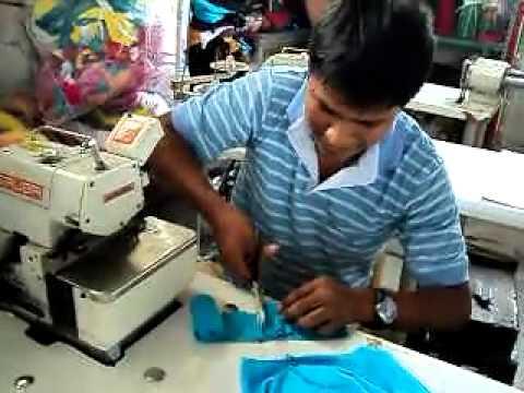 curso de costura gratis GAMARRA PERU una camiseta en 4 minutos... t-shirt in 4 minutes