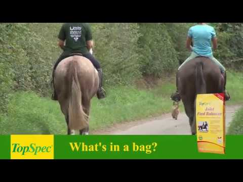 What's in the bag? TopSpec Joint Feed Balancer
