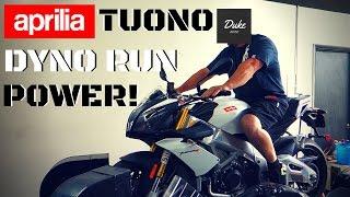 9. 2015 Aprilia Tuono V4R   Dyno Run