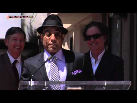 Giancarlo Esposito Walk of Fame Ceremony