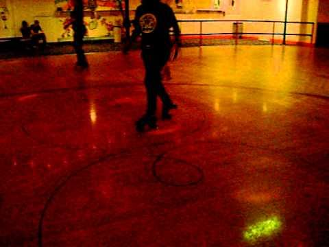 texas rookie @the skating rink