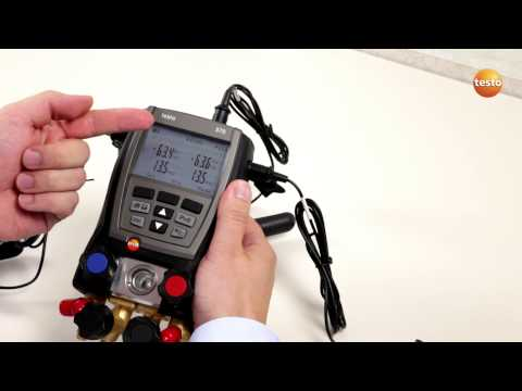 testo 570 - Step 2 - How to access Basic Settings