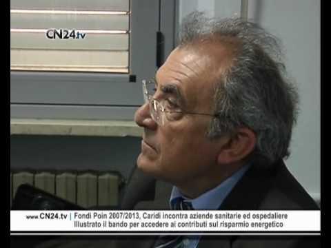 Fondi Poin 2007/2013, Caridi incontra aziende sanitarie ed ospedaliere