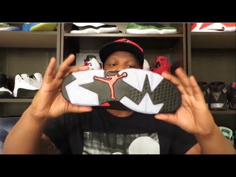 AIR JORDAN RETRO 6 'BLACK INFRARED REVIEW AND COPP