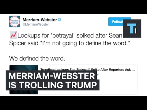 Dictionary Attack on Donald Trump