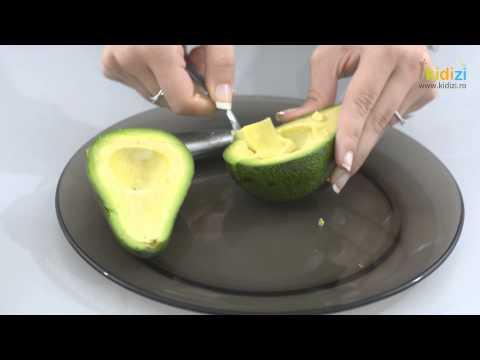 Cum sa curatam un avocado