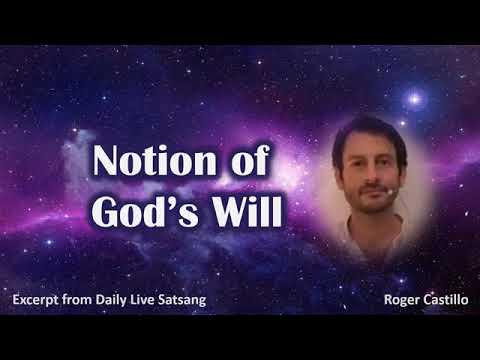 Roger Castillo Video: Notion of God's Will
