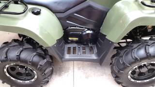 9. 2012 arctic cat 450 h1 click from clutch area
