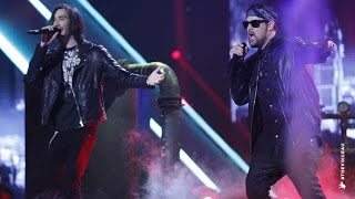 <b>Joel Madden</b> And Frank Lakoudis Sing Radioactive  The Voice Australia 2014