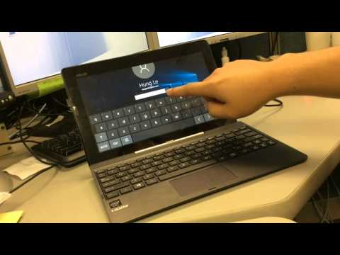 Upgrade from Windows 8 1 to Windows 10 on ASUS Transformer Book T100TA