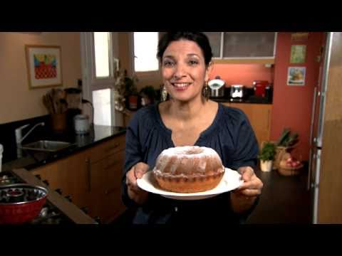 How to Make a Simple Healthy Greek dessert: Lemon Cake with Yogurt
