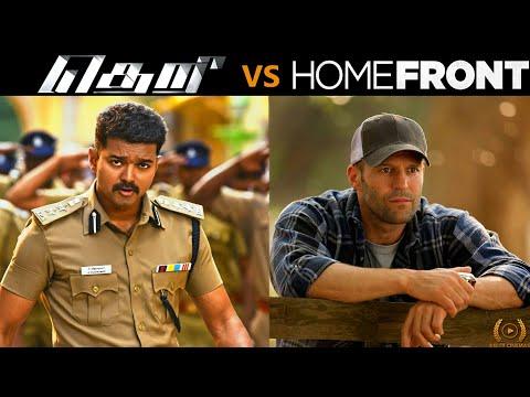Theri (2016) Vs HomeFront (2013) Movie Similarities l By Delite Cinemas