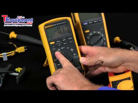 How to Measure Temperature With A Fluke Multimeter Features Models 87V & 233