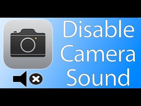 How To Turn Off Camera Sound In IPhone X/8/7/6