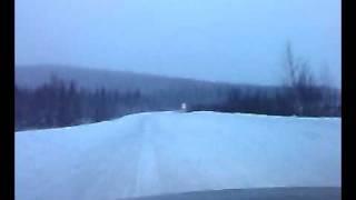 дорога Лесосибирск-Северо-Енисейск
