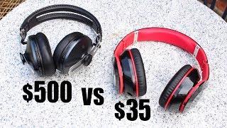 Video $500 Bluetooth Headphones vs $35 Bluetooth Headphones MP3, 3GP, MP4, WEBM, AVI, FLV Juli 2018