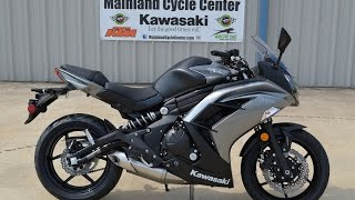 2. $6,899: 2014 Kawasaki Ninja 650 ABS Gray Overview and Review