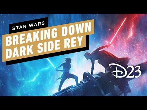 Star Wars D23 2019 Footage Reaction Dark Side Rey Explained