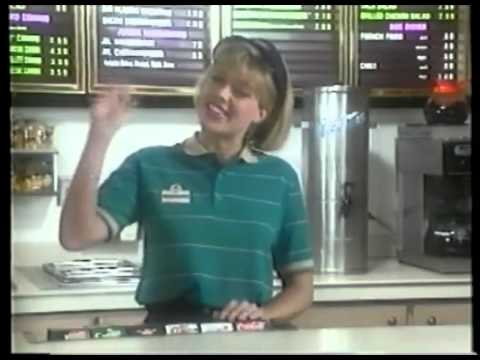 Wendy's training video from the 80's on how to serve cold drinks. The cringe is unbearable.