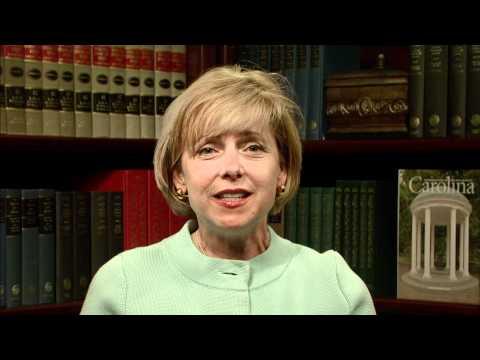 Ein Wort von Patti Thorp auf dem 2012 Carolina Blood Drive
