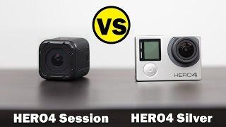 Video GoPro HERO4 Session vs GoPro HERO4 Silver - Whats Better For $400 MP3, 3GP, MP4, WEBM, AVI, FLV Februari 2019