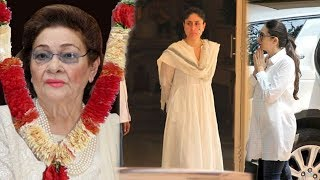 Video Kareena Kapoor Breaks Down In Front of Sister Karishma On Sudden News Of Dadi Krishna Raj Kapoor MP3, 3GP, MP4, WEBM, AVI, FLV Oktober 2018