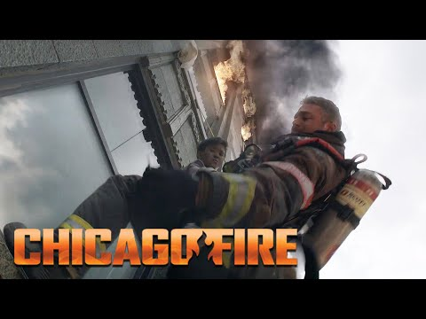 Severide Jumps From 25 Story Building   Chicago Fire