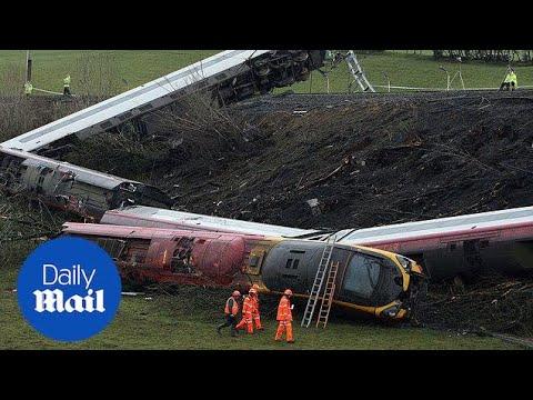 Grayrigg train crash: 10 years on - Daily Mail