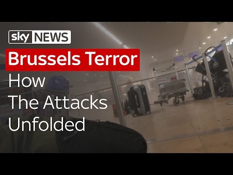 Brussels Terror: How The Attacks Unfolded