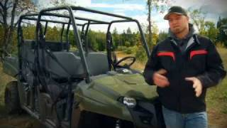 10. 2011 Polaris Ranger Crew Test Ride