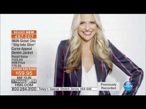 HSN | IMAN Global Chic Fashions 08.27.2016 - 04 AM