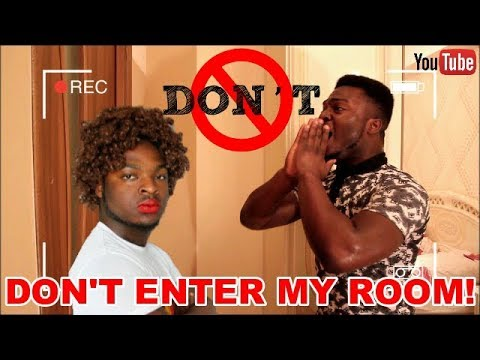African Home: DON'T ENTER MY ROOM!