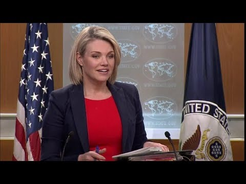 Department Press Briefing  - March 29, 2018