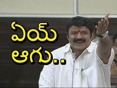 Nandamuri-Balakrishna-Serious-Warning-To-YSRCP-Leaders-AP-Assembly-6TV