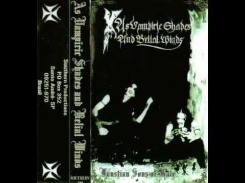 As Vampiric Shades and Belial Winds (1998) (Underground Black Metal Brazil)