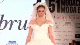 Ebruli Gelinlik 2016 Gelinlik Defilesi - 51 Moda Evi - Gelin Damat Fashion Day 2016