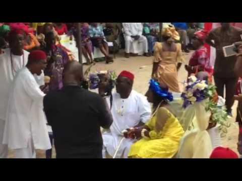 Obi Arachie's Igbu ICHI AMOLU Ceremony Adazi Nnukwu 1