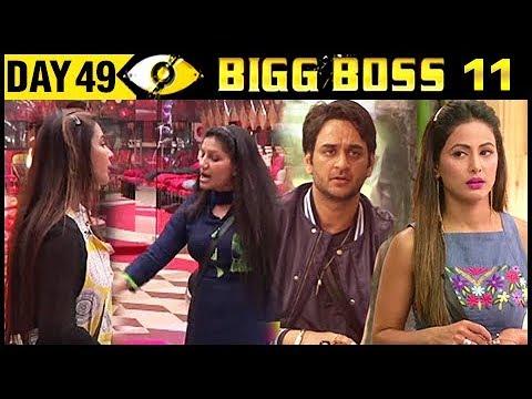 Hina VS Vikas, Shilpa & Sapna UGLY FIGHT | Bigg Bo