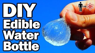 DIY Edible Water Bottles - Man Vs. Science #1 (w/Vsauce2)