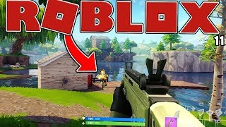 YOU CAN PLAY FORTNITE IN ROBLOX? - ROBLOX FORTNITE BATTLE ROYALE (ISLAND ROYALE)