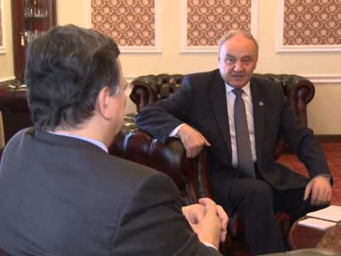 Moldovan president meets European Commission president