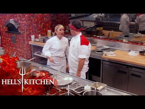 Anton Gets Into A HUGE Argument With Chef Andi | Hell's Kitchen