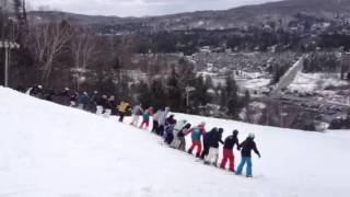 Saint-Sauveur (QC) Canada  city photos gallery : Freestyle Quebec, Canada Mont St-Sauveur Ski Backflip Record