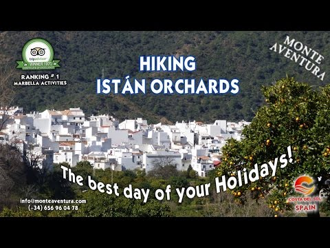 Monte Aventura (Marbella). Hiking Istán Orchands!. The Paradise