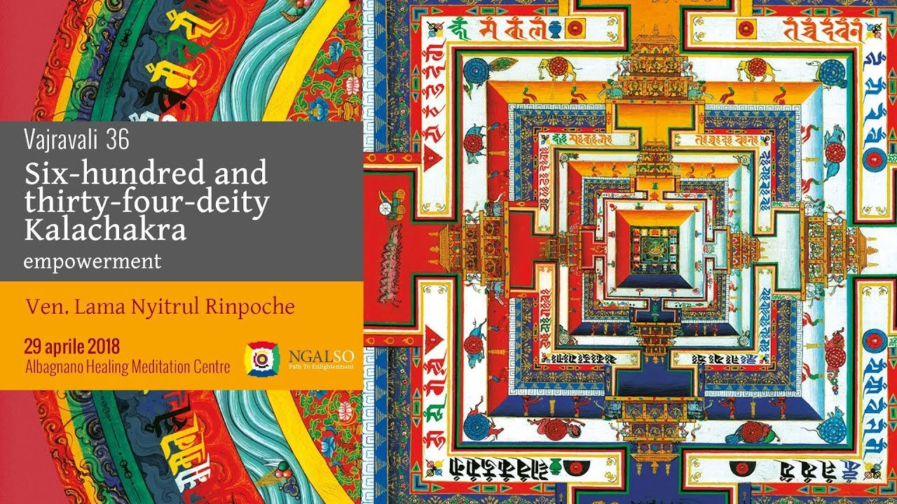 Vajravali 36 - Six-hundred and thirty-four-deity Kalachakra empowerment