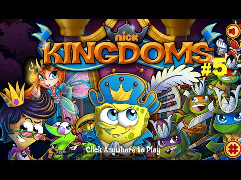 Nickelodeon Kingdoms ClashSpongebob ,Teenage Mutant Ninja Turtles,Sanjay and Craigpart part 5