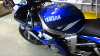 4. 2001 Yamaha R6 Walkaround (Motorcycle Review)