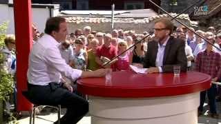 Almedalen 2013 - Debatt med Stefan Löfven (S) - Hela intervjun