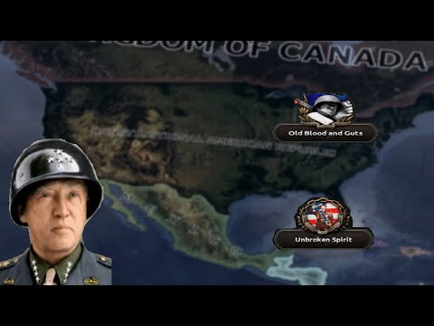 Hearts Of Iron 4: Kaiserredux - Constitutional American Republic  - George Patton's United States