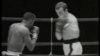 Ingemar Johansson Vs Floyd Patterson II - 1960 - Rounds 1 - 3